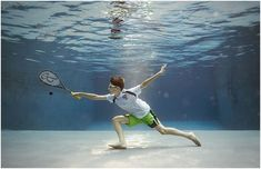 Creative Underwater Portraits of Kids by Alix Martinez Underwater Art, Underwater Photographer, Sport Photography, Children Photography, Kids Sports, Kids Playing, Swimming Pools, Creative, Squash