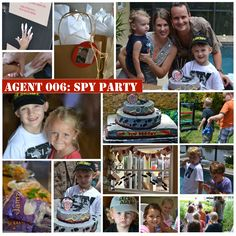 Jack's loving this idea - secret agent birthday party | spy party ideas | budget party ideas