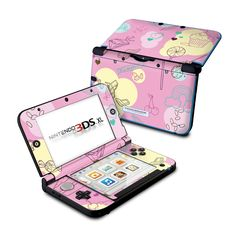 Nintendo 3DS XL Skin - Pink Candy by Chad Carothers | DecalGirl