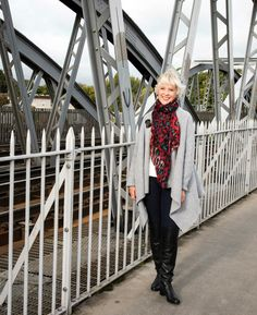 Wrapping up warm for winter in real woo Fashion inspiration for women over 50