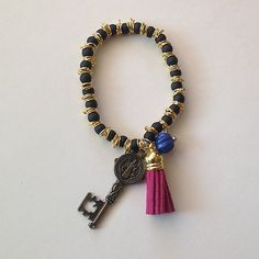 A San Benedict Bracelet Medalla Llave de San Benito Importada de Guadalajara | eBay