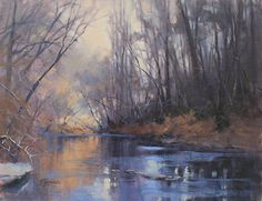 Peaceful Adventure by Barbara Jaenicke Oil ~ 14 x 18