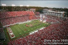 Carter-Finley Stadium....Home of the WOLFPACK!