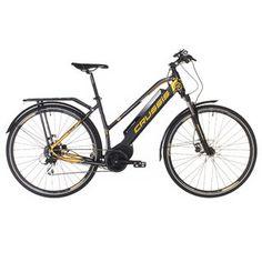 Dámské trekingové elektrokolo Crussis e-Savela 7.4 - model 2019 - inSPORTline Modeling, Bicycle, Vehicles, Bicycle Kick, Modeling Photography, Bicycles, Car, Models, Bike