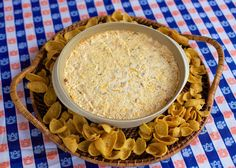 Warm Crack Dip serves 10-12 (Printable Recipe) •8oz cream cheese, softened •1 (1oz) package Ranch dressing mix •1 (3oz) bag bacon bits (Oscar Meyer) •2 cup shredded cheddar cheese •16 oz sour cream Preheat oven to 400. In bowl, combine all ingredients; mix well. Transfer to 2-quart baking dish; cover. Bake dip 25 to 30 minutes or until hot and bubbly