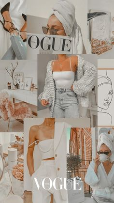 Vogue Wallpaper, Fashion Wallpaper, White Wallpaper, Iphone Wallpaper Tumblr Aesthetic, Aesthetic Pastel Wallpaper, Aesthetic Wallpapers, Beste Iphone Wallpaper, Wallpaper Iphone Cute, Girly Wallpapers For Iphone