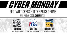 Brooklyn Nets Cyber Monday Ticket Offer