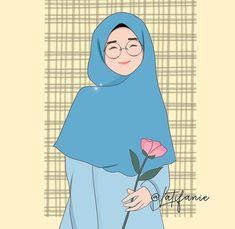 Islamic Cartoon, Anime Muslim, Hijab Cartoon, Islamic Girl, Muslim Women, Cartoon Art, Cute Wallpapers, Disney Characters, Fictional Characters