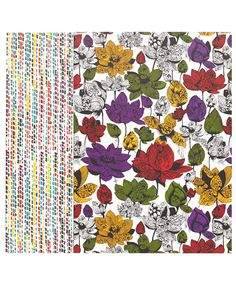 Liberty Print Multicolour Asaka and Milla Notebook Set