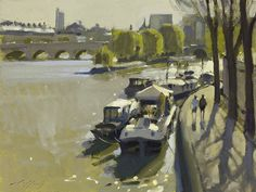 Paul Rafferty   Morning Light, Paris