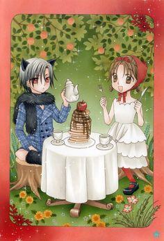 Tags: Scan, Higuchi Tachibana, Gakuen Alice, Sakura Mikan, Hyuuga Natsume, Hana to Yume (Source), Official Art