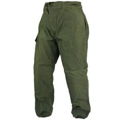 Belgian OD Combat Trousers These combat trousers are a heavy...