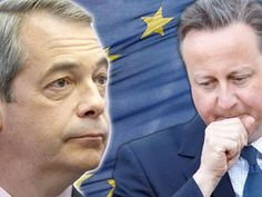 NIGEL FARAGE is now more trusted than David Cameron on the EU as yet another poll showed a lead for the Brexit campaign.