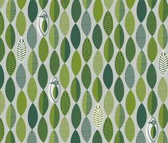 Woodland Woodcut fabric by spellstone for sale on Spoonflower - custom fabric, wallpaper and wall decals