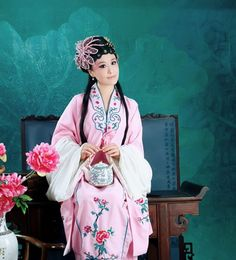Chinese Classic Opera Long Sleeve Costume for Women