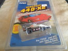 Unknown 164788: ( Item 105) New Magnum 440-X2 Tyco Ho Scale Indy Slot Car Number 0... -> BUY IT NOW ONLY: $100 on eBay!
