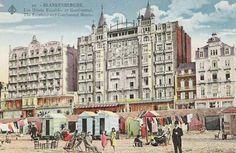 Hotels Continental-Palace en Exelsior (Blankenberge)