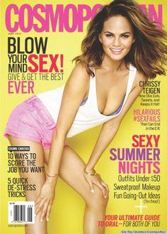 Chrissy Teigen for Cosmopolitan June Issue