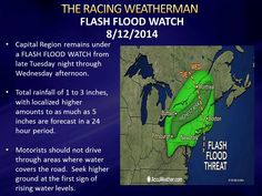 Joe's Tuesday Weather Update for 8/12/14, now available at http://racingwxman.weebly.com/
