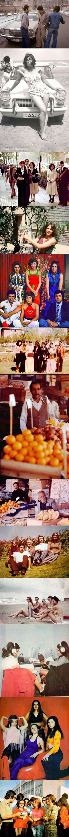 Beautiful vintage photos that capture Iran in the 60s and 70s.