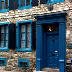More colorful doors in Quebec City, Canada.
