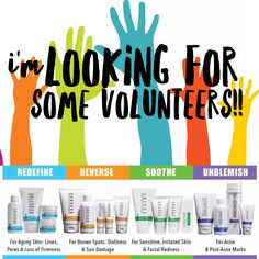 I'm looking for some volunteers to try out our Rodan + Fields regimens at MY consultant price!! Contact me today for this deal!!