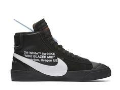 2019 Off White x Nike Ow Blazer Mi AO2115 001 Sneakers Pas