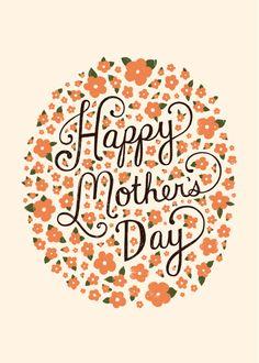 Happy Mother's Day Card by Lauren Hom