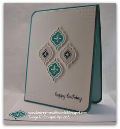 By Nicole Tugrul   #stampinup #mosaicmadness #birthdaycard