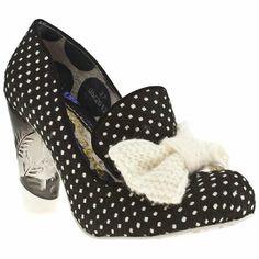 Irregular Choice Oz Bowtiful Polka Dot - 6 Uk - Black & White - Fabric Irregular Choice, http://www.amazon.co.uk/dp/B00904ZHPK/ref=cm_sw_r_pi_dp_wIRxtb1P9433Q