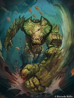 Ent fighter by shiprock.deviantart.com on @DeviantArt