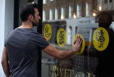 Knit creates talking window for Hiut Denim Co – Creative Review