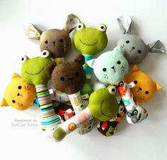 Baby rattle, handmade by boGár krea http://bogarkrea.blogspot.hu/