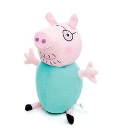 Pelucia---Peppa-Pig---Papai-Pig---Estrela