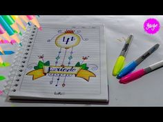 Preschool Writing, School Notebooks, Bullet Journal Ideas Pages, Ideas Para, Lettering, Cool Stuff, Drawings, Banners, Anime