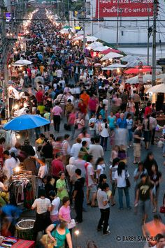 night market in Chiang Mai, Thailand | Darby Sawchuk