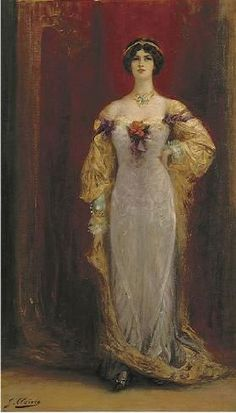 Portrait of Cléo de Mérode by Georges Jules Victor Clairin
