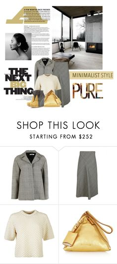 """""""Chic Minimalist Style"""" by lacas ❤ liked on Polyvore featuring Jil Sander, Tory Burch and Minimaliststyle"""