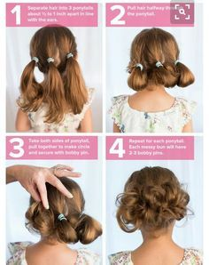 18 Cute Hairstyles that Can Be Done in a Few Minutes | Easy, Hair ...