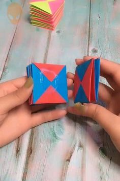 Fun Origami Ideas For Christmas – DIY Tutorials Videos – antin kuntin – Kreativ Diy Crafts Hacks, Diy Crafts For Gifts, Diy Arts And Crafts, Creative Crafts, Fun Crafts, Instruções Origami, Paper Crafts Origami, Useful Origami, Origami Ideas