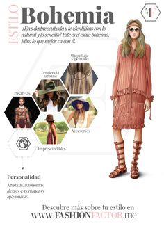 Atención mujeres de estilo Bohemio: las faldas largas, bordadas, estampados étnicos, flores y apliques artesanales lucirán mejor en ti si aprovechas la forma de tu cuerpo. En fashionfactor.me te decimos cómo lograr tu look ideal.
