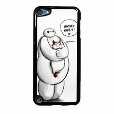 Baymax Hairy Baby iPod Touch 5 Case