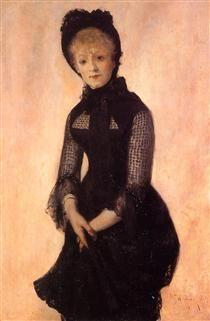 Portrait of Harriet Hubbard Ayer - William Merritt Chase