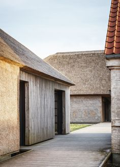 Wadden Sea Centre by Dorte MandrupResearch, Architecture, Interiors Photography: ©Rasmus Hjortshøj Around years ago, the end of the. Vernacular Architecture, Roof Architecture, Sustainable Architecture, Residential Architecture, Architecture Details, Contemporary Barn, Modern Barn, Contemporary Architecture, Bungalows