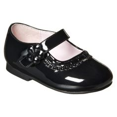 every little girl must have a pair of patten-leather shoes