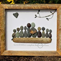 Handmade Pebble Art …