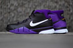 dad71bdb4e1d Get The Nike Kobe 1 Protro Purple Reign Here