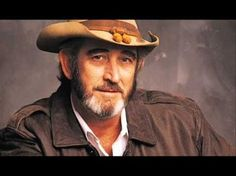 Donald Ray Williams (May 1939 – September was an American country singer, songwriter, and 2010 inductee to the Country Music Hall of Fame. Country Music Videos, Country Music Stars, Country Music Singers, Country Songs, Don Williams Amanda, Don Williams Music, 1990s Music, Country Hits, Dancing With The Stars