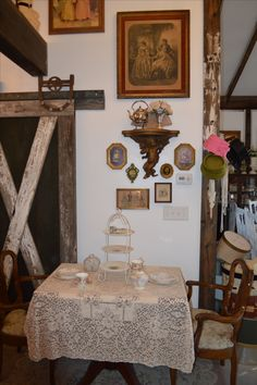 The perfect place for Tea on our Hobby Farm located in Alta Loma, CA