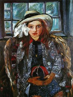 Lovis Corinth (Friedrich Heinrich Louis, German 1858–1925)    Wilhelmine With A Ball  1915
